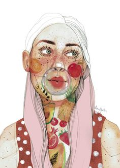 Watercolor Portraits, Watercolor Paintings, Watercolour, Surreal Artwork, Inspirational Artwork, Magic Art, Ap Art, Portrait Illustration, Portrait Art