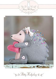 Darling Hedgehog Pincushion
