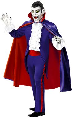 Contemporary Toons Dracula Costume (34113) £37.99 #fancydress #costumes #Halloween