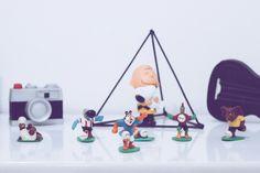 Coleção de toys.