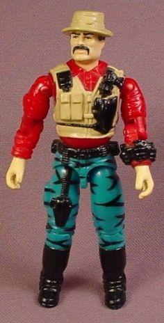 G.I. Joe Bazooka Action Figure, Version 3, Battle Corps, 3 3/4 Inches Tall, 1993 Hasbro, GI Joe