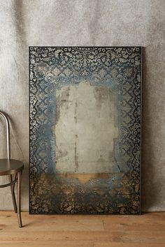 Dissolved Lace Mirror #anthropologie