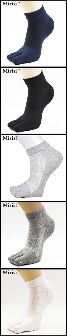 Summer New Product Short Tube Exquisite Quality Four Colors For Choose Mesh Man's Ankle 5 Toe Socks