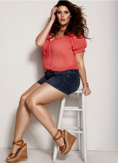 Torrid summer fashion. I love these shoes