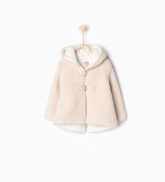 Knit jacket with ears-Cardigans and Sweaters-Baby girl | 3 months-4 years-KIDS | ZARA Turkey