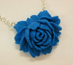Big rose from polymerclay - Polymerclay by KVJ
