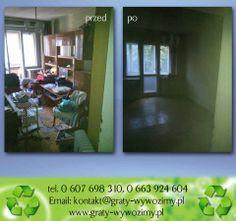opróżnianie,likwidacja,sprzątanie mieszkań Wrocław tel.607-698-310  ,  663-924-604 www.graty-wywozimy.pl