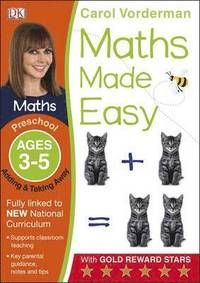 Maths Made Easy Adding And Taking Away Preschool Ages 3-5 (häftad)