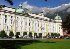 Hofburg in Innsbruck, Tirol, Austria