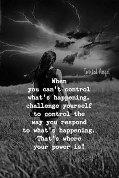 Control the way you Respond