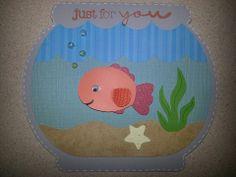 Cricut Create a Critter Fish Bowl w/Fish  www.angelssendinghope.com
