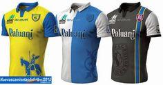 Nuevas camisetas de futbol 2014 2015 2016: Camiseta Serie A 2014 2015:Camiseta CHIEVOVERONA Givova 2014 2015