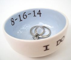 Custom Ring Dish: Giveaway! | Emmaline Bride®