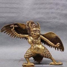 Hippie Men, Maitreya Buddha, Sitting Buddha, Bird Wings, Tibet, Healing Stones, Lion Sculpture, Brass, Statue