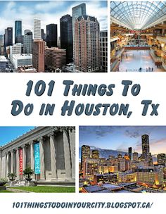 101 Things to Do...: 101 Things to do in Houston Except for Astroworld.....LOL. Good to know for when visitors come