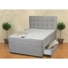 £274.99 - Sweet Dreams Canvey Ottoman Bed Set