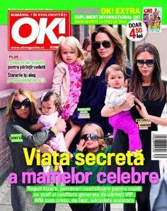 Angelina Jolie, Mariah Carey, Victoria Beckham - OK! Magazine Cover [Romania] (21 September 2012)