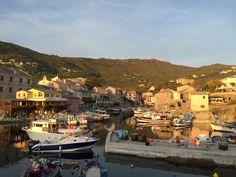 Corse. Le petit port de Centuri. Cap Corse.