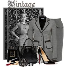 """Vintage Inspired"" by flowerchild805 on Polyvore"