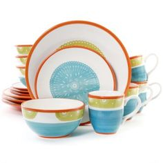 Teal Colored Dinnerware Sets  sc 1 st  Pinterest & Teal Colored Dinnerware Sets | Teal colors Dinnerware and Teal