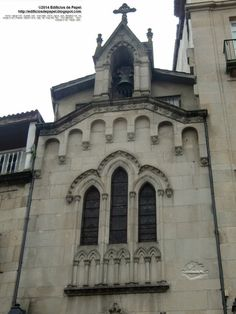Neo-Gothic chapel in the Plaza del Corregidor in Ourense (Galicia,  Spain) - model?  All scales available