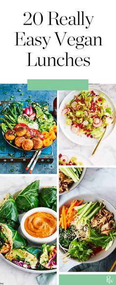 20 Low Maintenance Satisfying Vegan Lunches