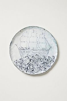 1000 images about sealife plates on pinterest for Calligrapher canape plate anthropologie