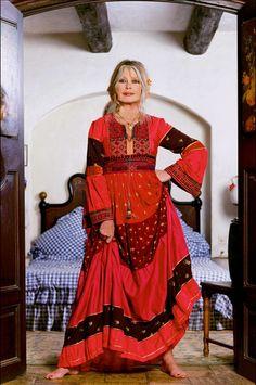 Brigitte Bardot, à La Madrague en 1999. © Gérard Schachmès