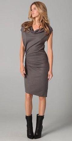 Elegantes vestidos casuales drapeados 2012  http://vestidoparafiesta.com/elegantes-vestidos-casuales-drapeados-2012/