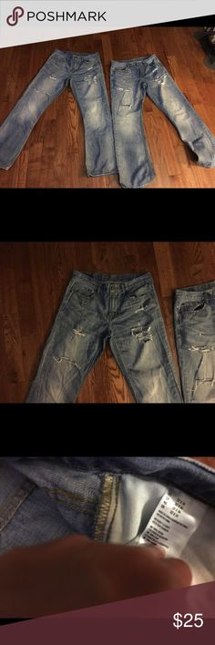 American eagle jeans American eagle jeans - Bootcut with worn look with rips American Eagle Outfitters Jeans Bootcut