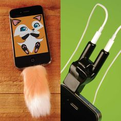 Rockin Splitter & Faux Tail – Yeah. Why not go nuts with your #iPhone? #gadget
