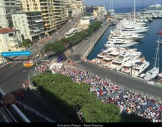 Part of the LuxuryF1 view in Monaco for 2017