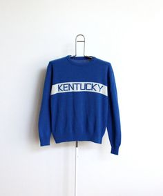 Kentucky Wildcats Sweater Mens Large XL Womens by beachwolfvintage