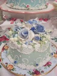 Image result for victorian birthday cake decorated with real pastel roses for woman beautiful on pinterest