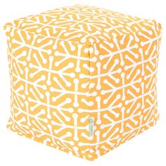 $43   I pinned this Aruba Pouf in Citrus from the Perfect Pouf event at Joss and Main!