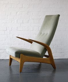Anonymous; 'Rock 'n' Rest' Armchair by Gimson and Slater, 1960s.