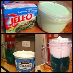 Ripped Recipes - Jello Protein - This is the best dessert! The texture is great Diabetic Recipes, Atkins Recipes, Bariatric Recipes, Healthy Recipes, Recipes With Jello, Jello Dessert Recipes, Pureed Recipes, Beef Recipes, Chicken Recipes