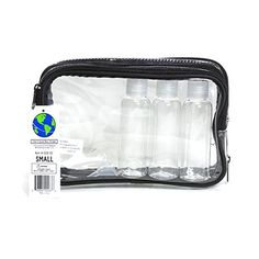 The Clear Bag Store  Clear Cosmetic Bag TSA Compliant Airplane Toiletry Bag * You can get additional details at the image link.