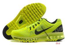 0d16dcd6ff2  Nike Air  Max 2013  Mens Volt Black 554886 701  Mens Nike Air