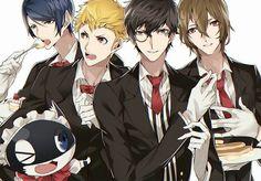 Persona 5 Boys~ (And Morgana)