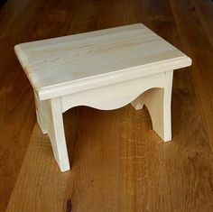 children's wooden step stool by furnitoys   notonthehighstreet.com