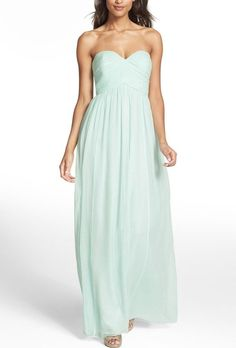 DONNA MORGAN LAURA Ruched Sweetheart Silk Gown Dress Sz 20W Beachglass #DonnaMorgan #Formal