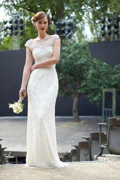 stephanie allin 2014 annie wedding dress front