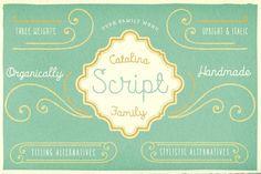 Catalina Script. Script Fonts. $45.00