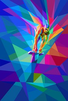 Sports digital art by charis tsevis