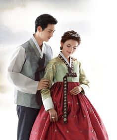 신랑한복 170 Korean Traditional Dress, Traditional Fashion, Traditional Dresses, Muslim Fashion, Korean Fashion, Hanbok Wedding, Korean Flag, Court Dresses, Korean Hanbok