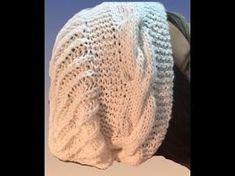 Gorros remolino tejidos a crochet imitación dos agujas - Tejiendo Perú - YouTube