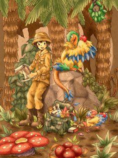 pokemon jungle