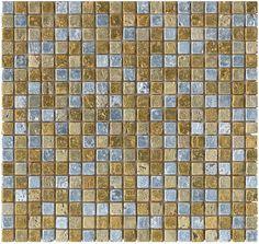 #Aparici #Mosaico #Rich Gold 31x31 cm   Feinsteinzeug   im Angebot auf #bad39.de 663 Euro/qm   #Mosaik #Bad #Küche