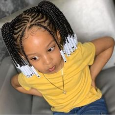 Braids With Beads For Toddlers Picture hairstyles with beads 368131 toddler braided hairstyles with Braids With Beads For Toddlers. Here is Braids With Beads For Toddlers Picture for you. Braids With Beads For Toddlers braids for kids black girls bra. Black Kids Braids Hairstyles, Toddler Braided Hairstyles, Toddler Braids, Baby Girl Hairstyles, Natural Hairstyles For Kids, Braids For Kids, Girls Braids, Braids For Black Kids, Kid Braids